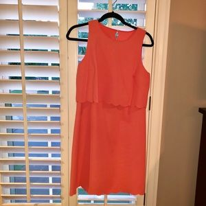 LOFT Scallop Dress size 6!